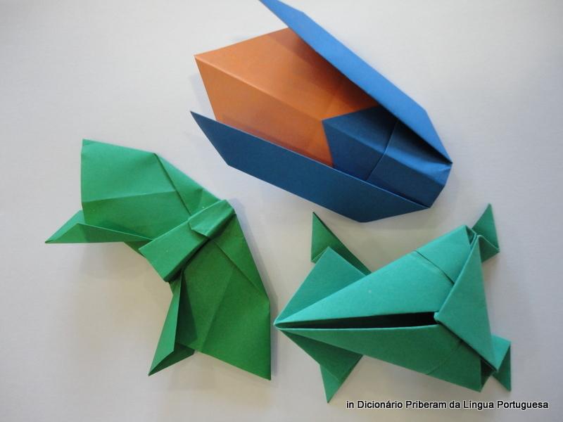 Significado defini o de origami no dicion rio priberam - Origami para todos ...